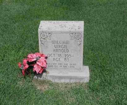 ARNOLD, WILLIAM VIRGIL - Izard County, Arkansas | WILLIAM VIRGIL ARNOLD - Arkansas Gravestone Photos