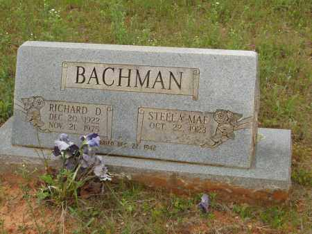 BACHMAN, RICHARD D - Izard County, Arkansas | RICHARD D BACHMAN - Arkansas Gravestone Photos