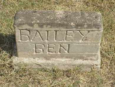 BAILEY, BEN - Izard County, Arkansas | BEN BAILEY - Arkansas Gravestone Photos