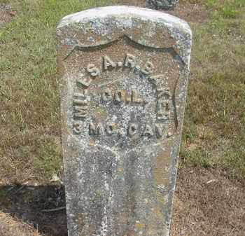 BAKER  (VETERAN UNION), MILES A. R. - Izard County, Arkansas | MILES A. R. BAKER  (VETERAN UNION) - Arkansas Gravestone Photos