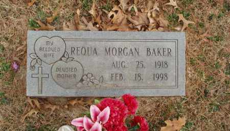 MORGAN BAKER, REQUA - Izard County, Arkansas | REQUA MORGAN BAKER - Arkansas Gravestone Photos