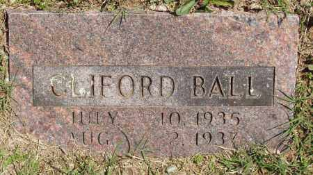 BALL, CLIFORD - Izard County, Arkansas | CLIFORD BALL - Arkansas Gravestone Photos