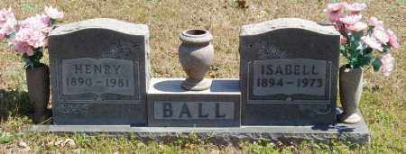 BALL, ISABELL - Izard County, Arkansas | ISABELL BALL - Arkansas Gravestone Photos