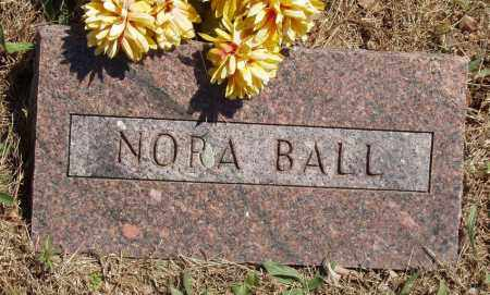 BALL, NORA - Izard County, Arkansas | NORA BALL - Arkansas Gravestone Photos