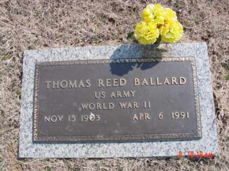 BALLARD  (VETERAN WWII), THOMAS REED - Izard County, Arkansas | THOMAS REED BALLARD  (VETERAN WWII) - Arkansas Gravestone Photos