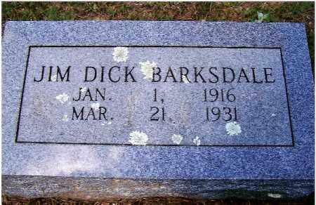 BARKSDALE, JIM DICK - Izard County, Arkansas | JIM DICK BARKSDALE - Arkansas Gravestone Photos