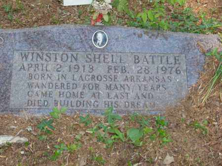 BATTLE, WINSTON SHELL - Izard County, Arkansas | WINSTON SHELL BATTLE - Arkansas Gravestone Photos