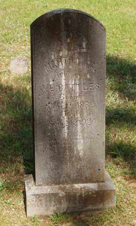 BATTLES, MARTHA A - Izard County, Arkansas | MARTHA A BATTLES - Arkansas Gravestone Photos