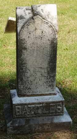 BATTLES, OLEN - Izard County, Arkansas | OLEN BATTLES - Arkansas Gravestone Photos