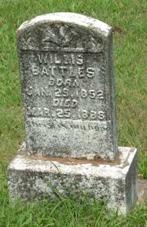 BATTLES, WILLIS - Izard County, Arkansas | WILLIS BATTLES - Arkansas Gravestone Photos