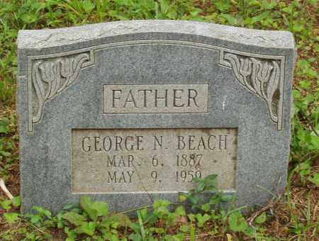 BEACH, GEORGE NEWTON - Izard County, Arkansas | GEORGE NEWTON BEACH - Arkansas Gravestone Photos