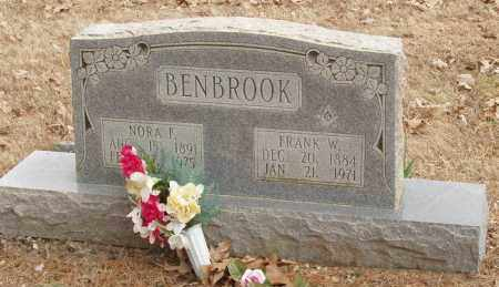 BENBROOK, FRANK W - Izard County, Arkansas | FRANK W BENBROOK - Arkansas Gravestone Photos