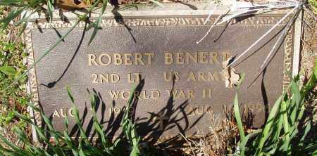 BENERT (VETERAN WWII), ROBERT - Izard County, Arkansas | ROBERT BENERT (VETERAN WWII) - Arkansas Gravestone Photos