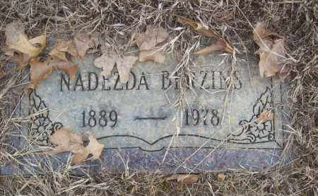 BERZINS, NADEZDA - Izard County, Arkansas | NADEZDA BERZINS - Arkansas Gravestone Photos