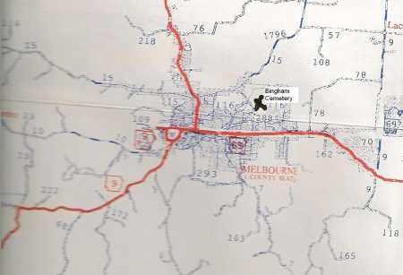 *, BINGHAM/ARNOLD MAP - Izard County, Arkansas | BINGHAM/ARNOLD MAP * - Arkansas Gravestone Photos