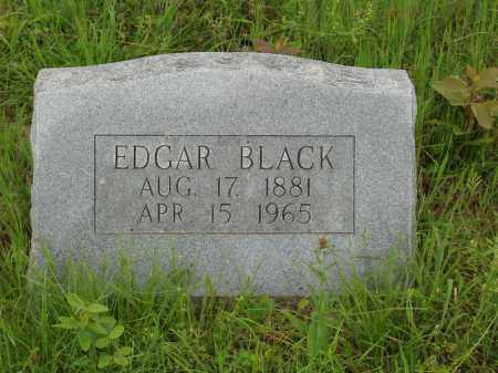 BLACK, EDGAR - Izard County, Arkansas | EDGAR BLACK - Arkansas Gravestone Photos