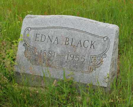 BLACK, EDNA - Izard County, Arkansas | EDNA BLACK - Arkansas Gravestone Photos