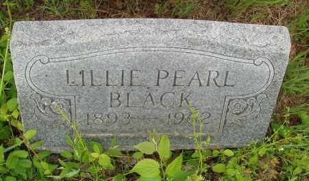 BLACK, LILLIE PEARL - Izard County, Arkansas | LILLIE PEARL BLACK - Arkansas Gravestone Photos