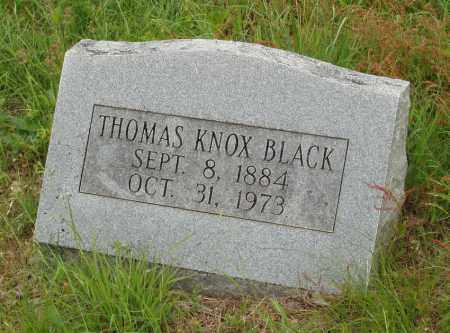 BLACK, THOMAS KNOX - Izard County, Arkansas | THOMAS KNOX BLACK - Arkansas Gravestone Photos