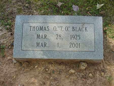 "BLACK, THOMAS O. ""T. O."" - Izard County, Arkansas | THOMAS O. ""T. O."" BLACK - Arkansas Gravestone Photos"