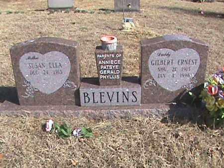 BLEVINS, GILBERT ERNEST - Izard County, Arkansas | GILBERT ERNEST BLEVINS - Arkansas Gravestone Photos