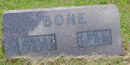 BONE, LEEMAN HOMER - Izard County, Arkansas | LEEMAN HOMER BONE - Arkansas Gravestone Photos
