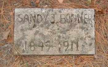 BONNER, SANDY J. - Izard County, Arkansas | SANDY J. BONNER - Arkansas Gravestone Photos