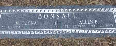 BONSALL, ALLEN B - Izard County, Arkansas | ALLEN B BONSALL - Arkansas Gravestone Photos
