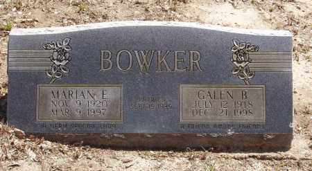 BOWKER, GALEN BADE - Izard County, Arkansas | GALEN BADE BOWKER - Arkansas Gravestone Photos