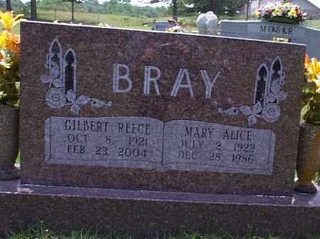 BRAY, MARY ALICE - Izard County, Arkansas | MARY ALICE BRAY - Arkansas Gravestone Photos