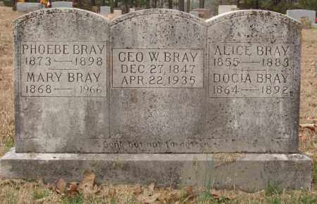 BRAY, DOCIA - Izard County, Arkansas | DOCIA BRAY - Arkansas Gravestone Photos