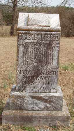 BROCKWAY, MARY ELIZABETH - Izard County, Arkansas | MARY ELIZABETH BROCKWAY - Arkansas Gravestone Photos