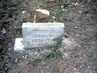 BROOKS, JOHN W. - Izard County, Arkansas | JOHN W. BROOKS - Arkansas Gravestone Photos