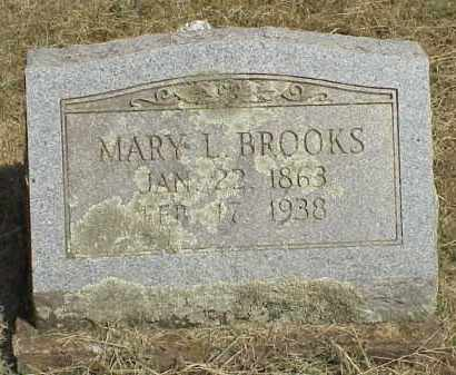 "BROOKS, MARY LAVINA ""CHUP"" - Izard County, Arkansas 