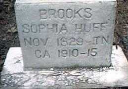 HUFF BROOKS, SOPHIA - Izard County, Arkansas | SOPHIA HUFF BROOKS - Arkansas Gravestone Photos