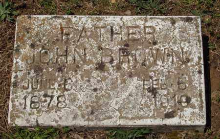 BROWN, JOHN - Izard County, Arkansas | JOHN BROWN - Arkansas Gravestone Photos