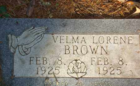 BROWN, VELMA LORENE - Izard County, Arkansas | VELMA LORENE BROWN - Arkansas Gravestone Photos