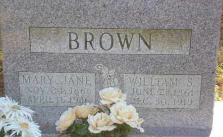 BROWN, WILLIAM S. - Izard County, Arkansas | WILLIAM S. BROWN - Arkansas Gravestone Photos