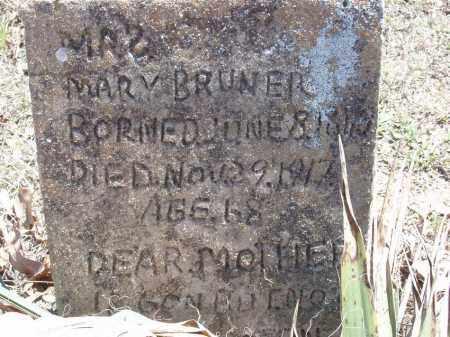 BRUNER, MARY - Izard County, Arkansas | MARY BRUNER - Arkansas Gravestone Photos