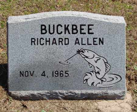 BUCKBEE, RICHARD ALLEN - Izard County, Arkansas | RICHARD ALLEN BUCKBEE - Arkansas Gravestone Photos