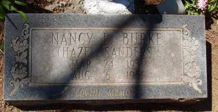 BURKE, NANCY L - Izard County, Arkansas | NANCY L BURKE - Arkansas Gravestone Photos