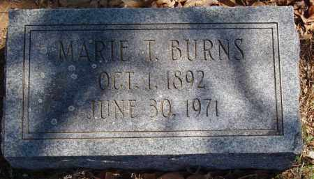 LAUTERBACH BURNS, MARIE T - Izard County, Arkansas | MARIE T LAUTERBACH BURNS - Arkansas Gravestone Photos