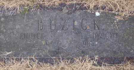 BUZICK, DWIGHT - Izard County, Arkansas | DWIGHT BUZICK - Arkansas Gravestone Photos