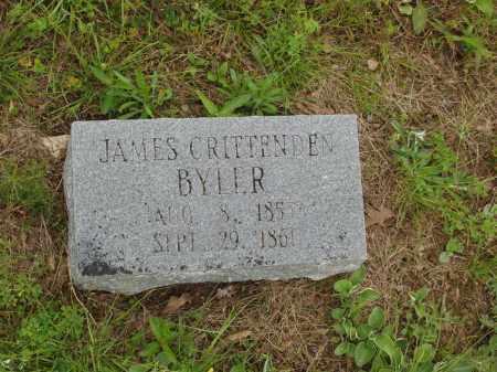 BYLER, JAMES CRITTENDEN - Izard County, Arkansas | JAMES CRITTENDEN BYLER - Arkansas Gravestone Photos