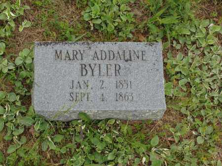 BYLER, MARY ADDALINE - Izard County, Arkansas | MARY ADDALINE BYLER - Arkansas Gravestone Photos