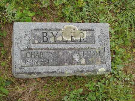 BYLER, CHARITY - Izard County, Arkansas | CHARITY BYLER - Arkansas Gravestone Photos