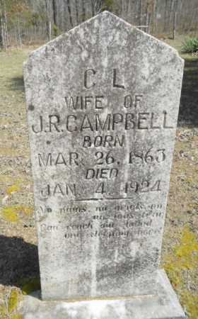 CAMPBELL, CYNTHIA LOUISA - Izard County, Arkansas | CYNTHIA LOUISA CAMPBELL - Arkansas Gravestone Photos