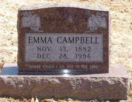 CAMPBELL, EMMA - Izard County, Arkansas | EMMA CAMPBELL - Arkansas Gravestone Photos