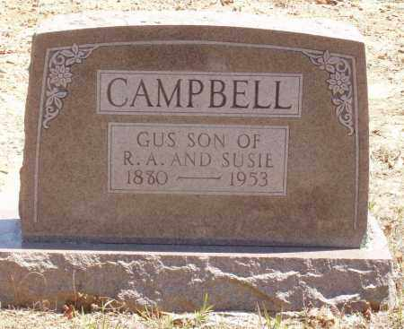 CAMPBELL, GUS - Izard County, Arkansas | GUS CAMPBELL - Arkansas Gravestone Photos