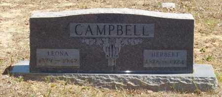 CAMPBELL, HERBERT - Izard County, Arkansas | HERBERT CAMPBELL - Arkansas Gravestone Photos